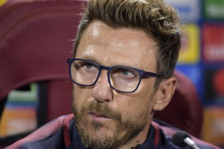 Queste le parole di Eusebio Di Francesco in conferenza stampa